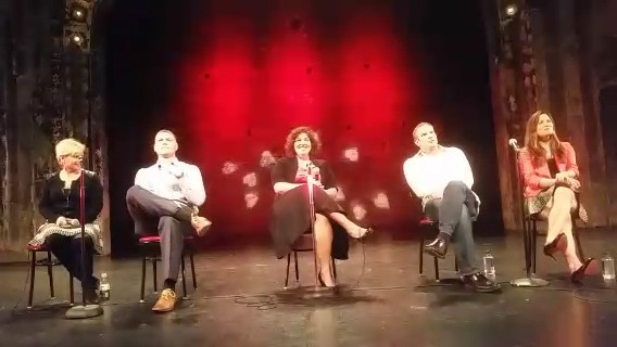 Minneapolis top dating coach and relationship expert Kimberly Koehler at The Great Love Debate