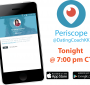Tonight Dating & Relationship Advice and Tips @ 7:00 pm CT on Periscope